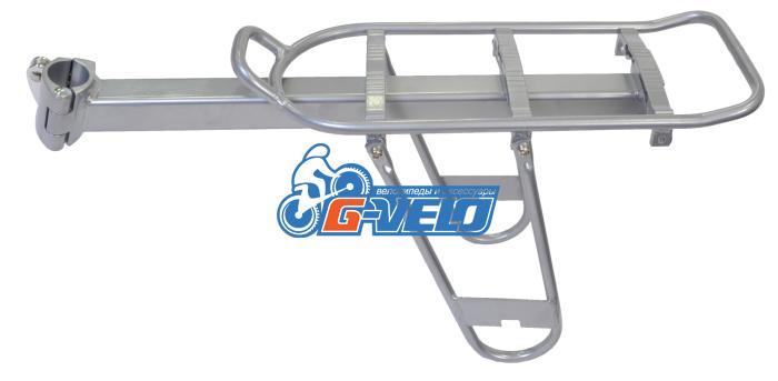 Багажник консольный, алюминиевый, серебро DM-HYJ/B5
