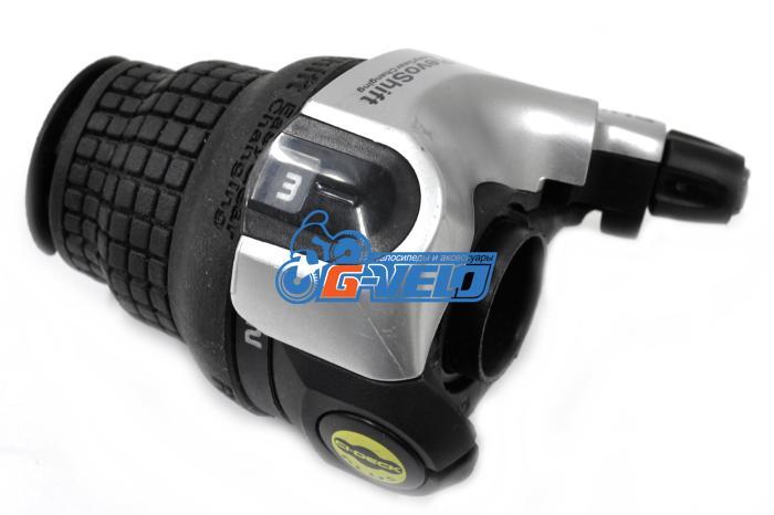 Шифтер Shimano SL-RS41LA 3ск серебристый