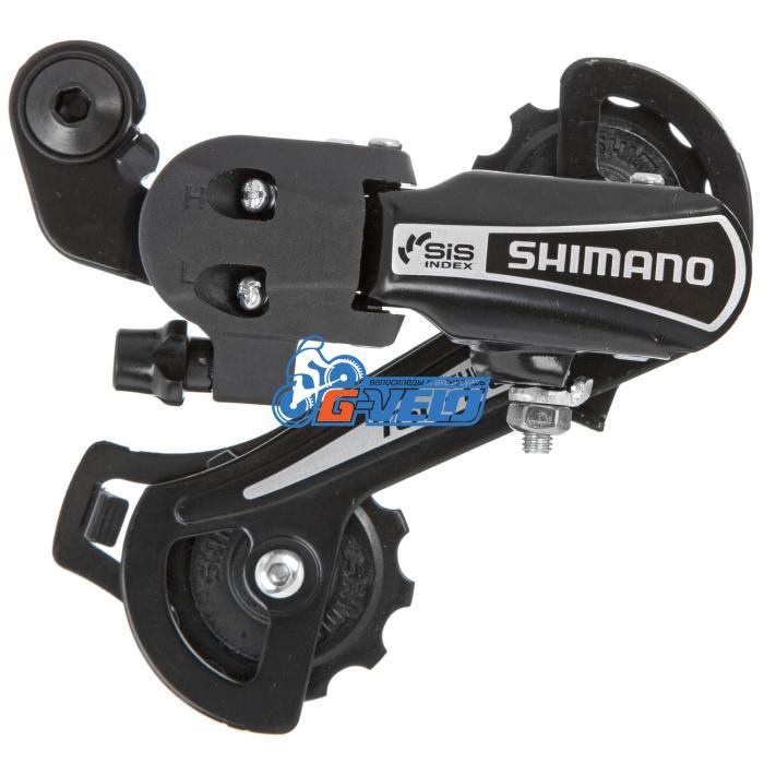 Задний переключатель Shimano Tourney RD-TY21-B GS под болт, черный