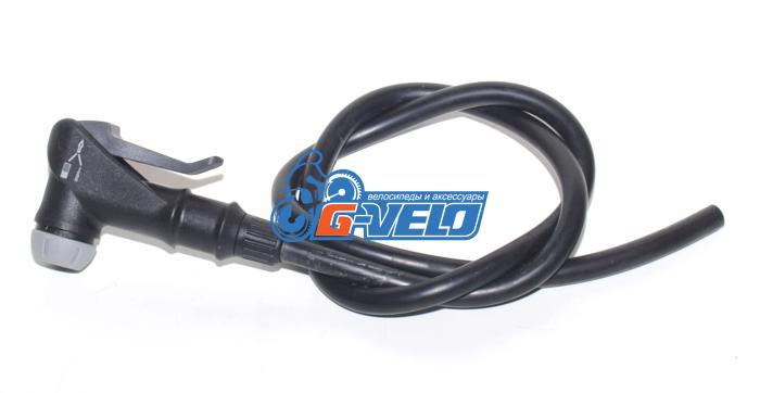 Шланг резиновый GIYO автоматический зажим Shrader/Presta, CVN