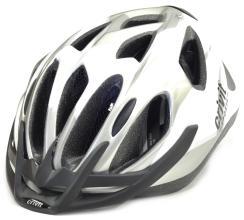Велошлем CRATONI CRIVIT MTB белый/серебро, 54-60 см