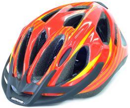 Велошлем CRATONI SPEQ MTB красный/желтый 54-60 см