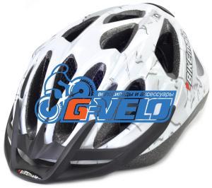 Велошлем CRATONI BIKEmate MTB белый/серебро комуфляж, 49-54 см