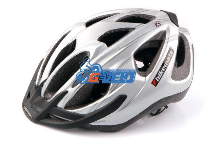 Велошлем CRATONI BIKEmate MTB белый/серебро/синий 54-60 см