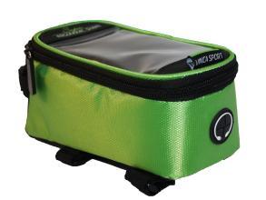 Vinca Sport, Сумка на раму, отделение для телефона, 195х100х100мм, зеленый FB 07-2 L green