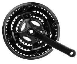 Система 28/38/48T, 170 мм, сталь, черная, ST05-S2848SG (10042)