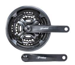 Система Prowheel A00D 48/38/28 170 мм, алюм. с защитой, под квадрат