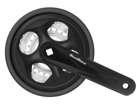 Система SunRace M500 42-34-24T 170мм, Blk/Blk, с защитой
