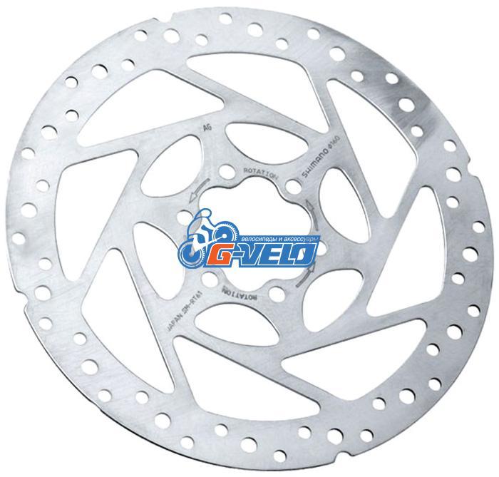 Тормозной диск Shimano SM-RT61 D=160 6 болтов