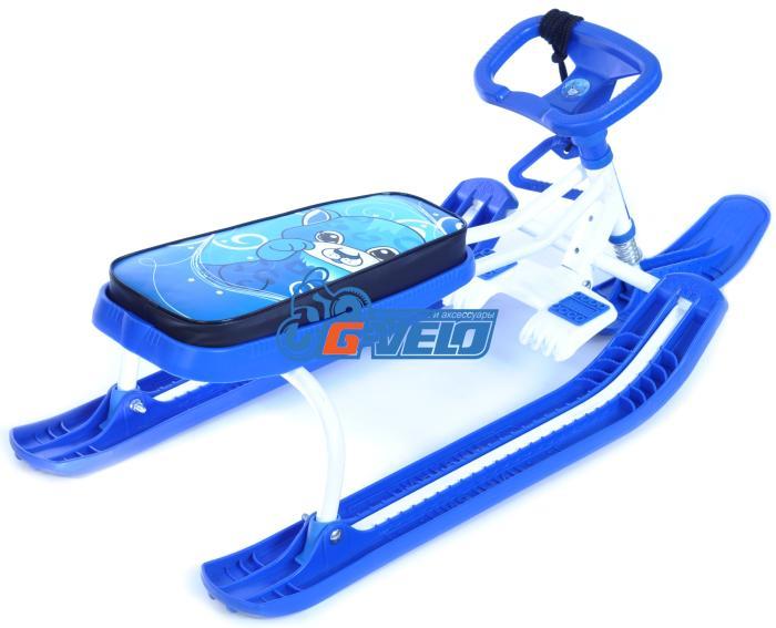 Снегокат Тяни-Толкай классик, синий