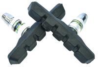 Колодки Vinca sport для V-brake 72мм, черные, инд. упаковка VB 111 black