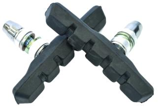 Колодки Vinca sport для V-brake 72мм, VB 111 black, черные