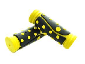 Грипсы SAIGUAN SR-46 95 мм, желтый/черный