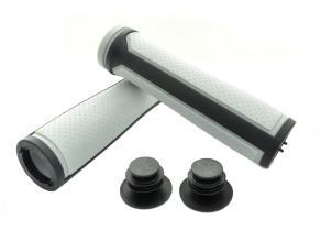 Грипсы SAIGUAN SR-85 125 мм, серый/черный
