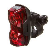 STG, Фонарь задний TL5425, 2 красных диода по 0,5 ватт, с линзами, прорезиненная кнопка