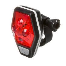 STG, Фонарь задний TL5437, 4 красных диода по 0,5 ватт, с линзами, прорезиненная кнопка