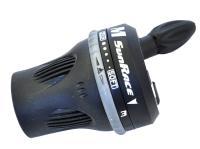 Шифтер SunRace M63 3ск черный, с тросом