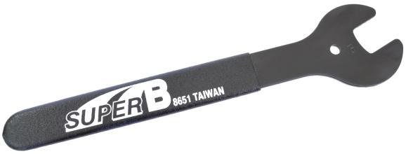 Конусный ключ 16мм, SuperB 8651
