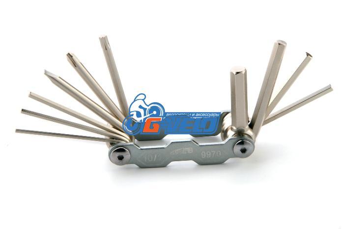 Складной набор инструмента 10 в 1, SuperB 9970