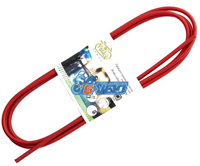 Рубашка тормозного тросика, Vinca Sport D=5 VSC 2 red, красная, 2м