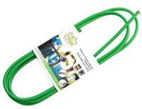 Рубашка тормозного тросика, Vinca Sport D=5 VSC 2 green, зеленая, 2м