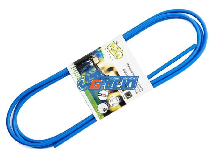 Рубашка тормозного тросика, Vinca Sport D=5 VSC 2 blue, синяя, 2м
