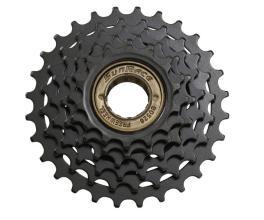 Трещотка 6ск SunRace R05, 14-24T черный