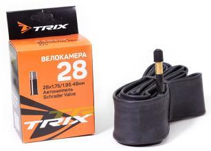 Камера 28 TRIX 28*1,75 автониппель AV 48мм, бутил