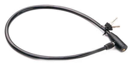 Велозамок Joykie JK9622 D12*800мм ключ