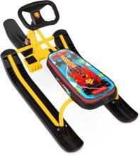 """Снегокат Тимка Спорт-2 классик, """"F1"""" желтый, ТС2/F1"""