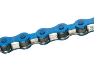 Цепь KMC S1 (1-ск.) к-во звеньев 112 синяя