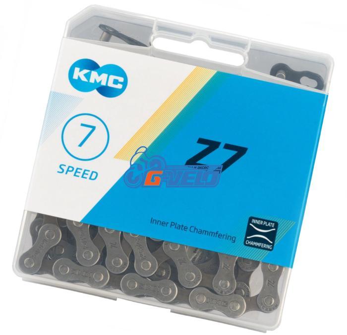 Цепь KMC Z-7 6-7 cкоростей, 116 звеньев, Gray/Brown (Z-50), OEM