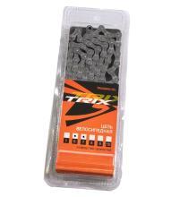 """Цепь TRIX, 6-7 скоростная 1/2х3/32"""", 112 звеньев, пин 7,7 мм, коричневая T30"""