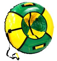 Тюбинг NIKA kids, d-950 с камерой, зелено-желтый, ТБ1К-95