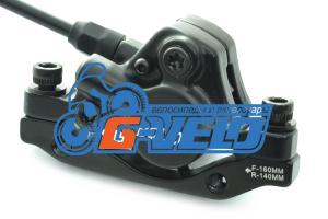 Тормоз гидравлический передний SAIGUAN, UB-001, PM 160мм / IS 160мм, 750 мм