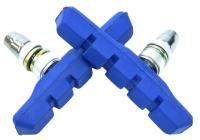 Колодки Vinca sport для V-brake 72мм, синие, инд. упаковка VB 111 blue