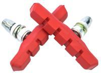 Колодки Vinca sport для V-brake 72мм, красные, инд. упаковка VB 111 red
