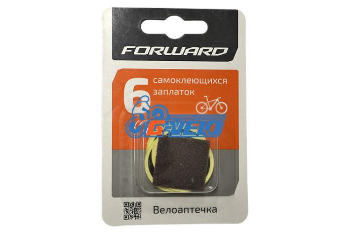 Велоаптечка Forward, самоклеющиеся заплатки 6шт, блистер