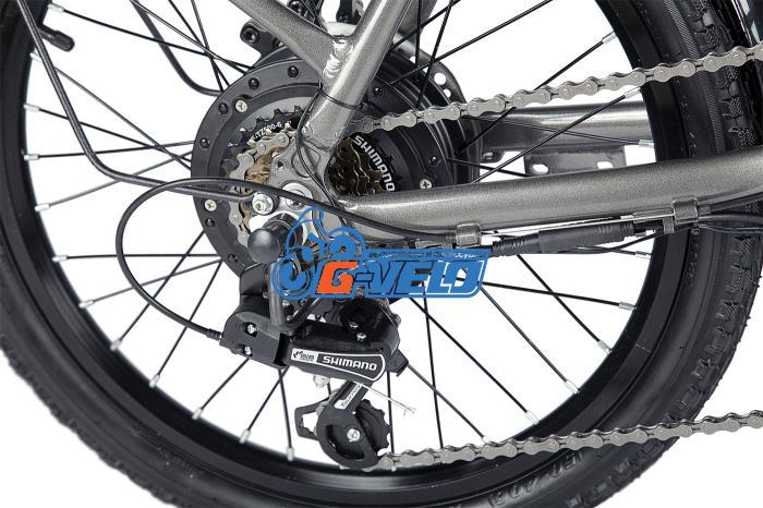 Велогибрид Eltreco Wave 350W NEW 20