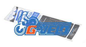 Наклейки защитные Велоклейка PRO, 27 наклеек, толщина 75 мкм