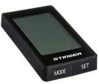 Велокомпьютер STG 22 функции, проводной, подсветка, черный
