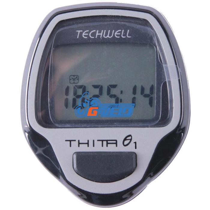 Велокомпьютер Techwell проводной Thita-1 5 функций