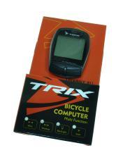 Велокомпьютер TRIX беспроводной, 18 функций, черный XC-B13-L (black)