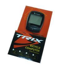 Велокомпьютер TRIX проводной, 16 функций, черный XC-B13 (BLACK)