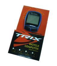 Велокомпьютер TRIX проводной, 16 функций, синий XC-B13 (BLUE)