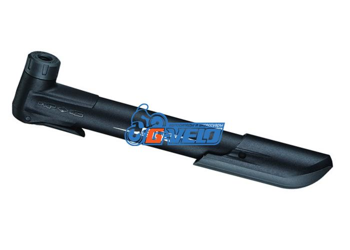 Велонасос GIYO GP-04CP mini pump, авто/вело нипель, с фиксатором, max 8 bar
