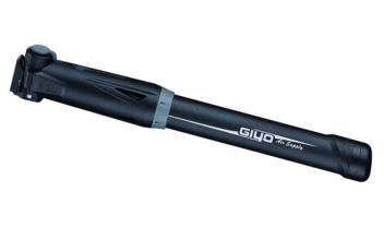 Велонасос GIYO GP-87SE mini pump, авто/вело нипель, с фиксатором, max 5 bar