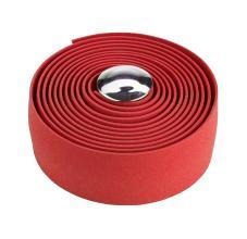 Обмотка руля VELO VLT-1001-RD красный б/гелевой ленты