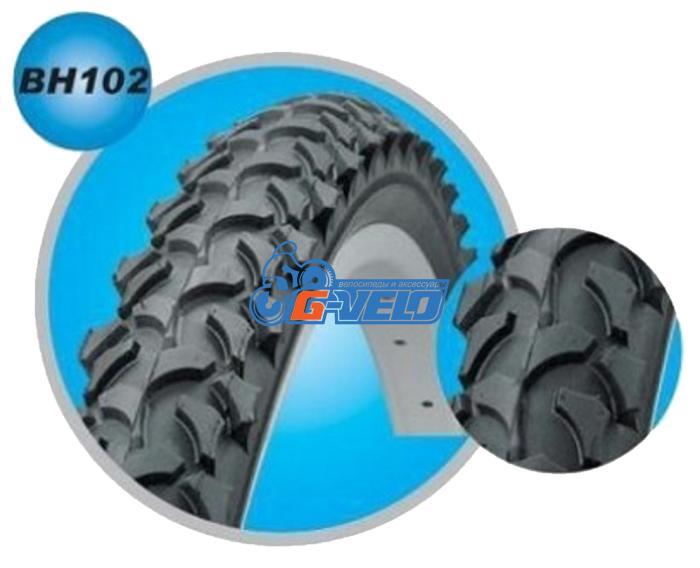 Велопокрышка 24 BOHAI 24*2,125 BH102 серия BH102-24-21 MTB