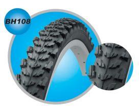 Велопокрышка 26 Bohai 26*1,95 BH108 серия BH108-26-195 MTB